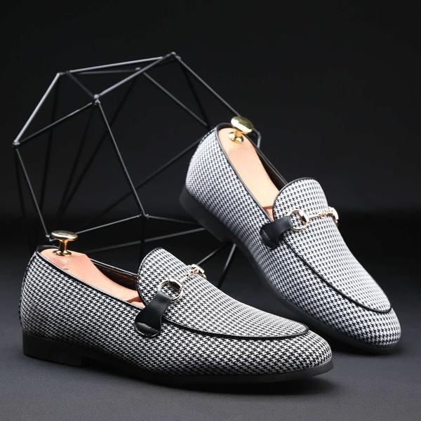 Shoes - 2018 Men Fashion Business Flat Slip-On Dress Loafers Doug Shoes(Buy 2 Get 5% off, 3 Get 10% off Now)