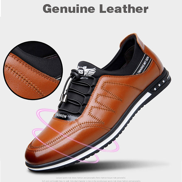 Men's Fashion Flat Lace-up Driving Shoes(Buy 2 Get 10% OFF, 3 Get 15% OFF, 4 Get 20% OFF)