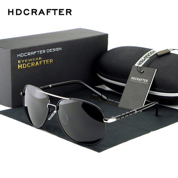 Sunglasses - 2018 Aluminum Magnesium Polarized Sun Glasses (With Box)