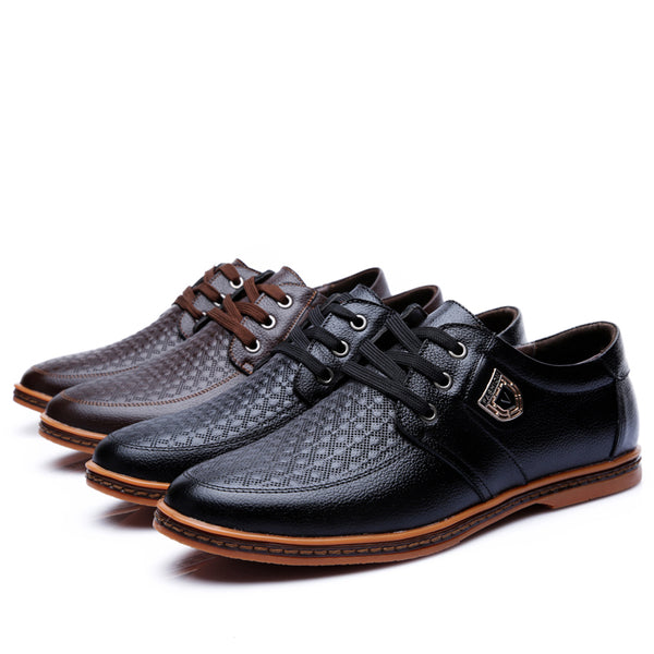 Shoes - 2018 New Men's Comfortable Leather Casual Shoes