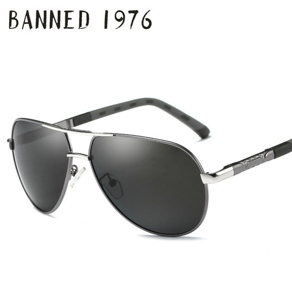 Sunglasses - Vintage Aluminum Anti Glare HD Polarized Sunglasses(Buy 2 Get 5% off, 3 Get 10% off Now)