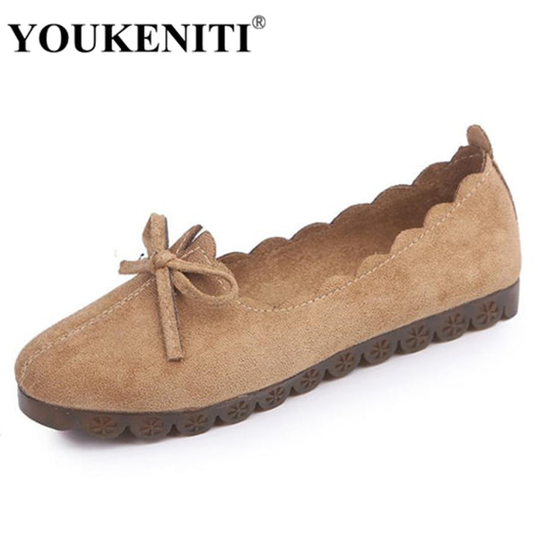 Autumn Spring Woman Causal Flock Moccasins