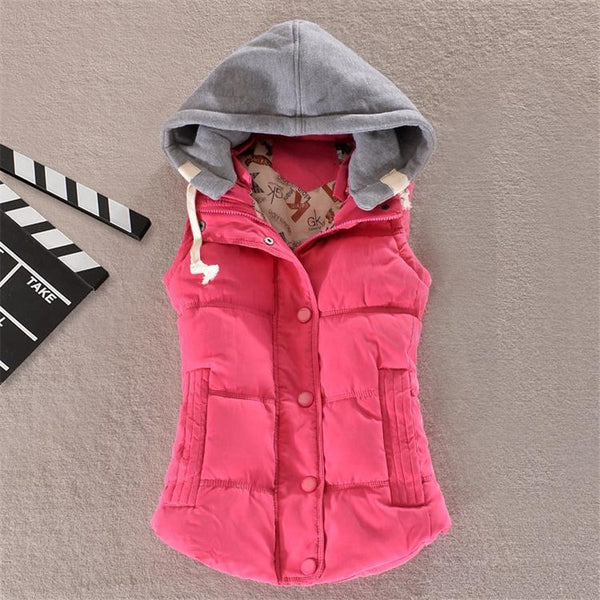 Women's Clothing - 10 Colors Autumn Winter Basic Jackets Coat