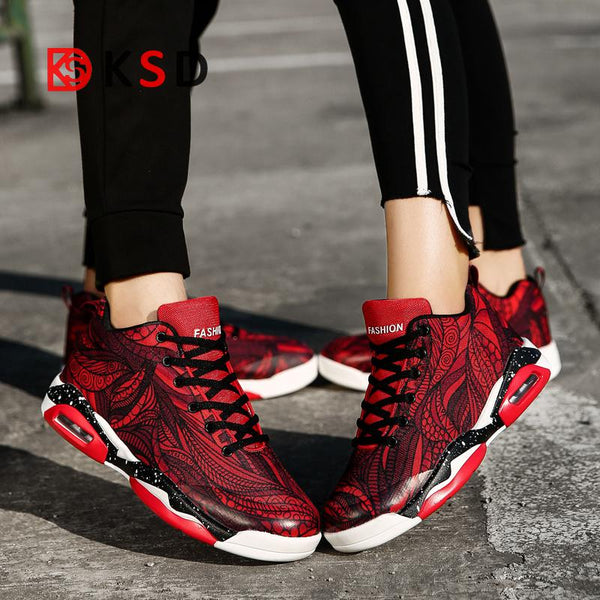 Plus Size Men And Women Camouflage Unisex Super Sneakers