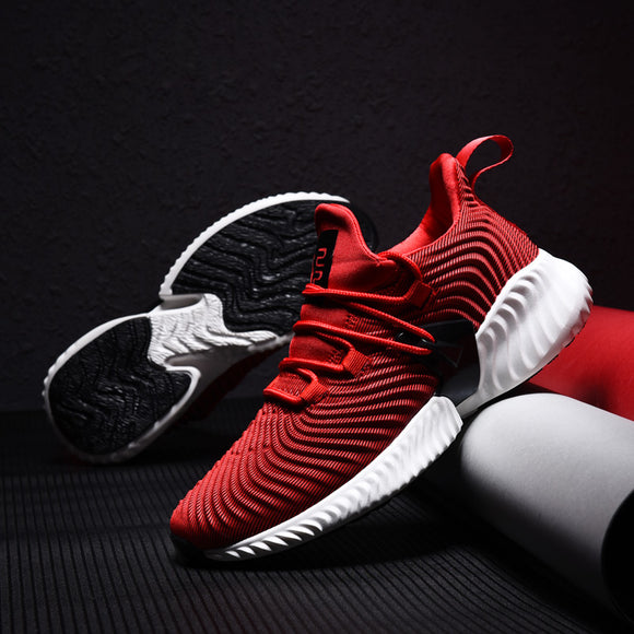 Shoes - 2019 Men Sneakers Lace Up Cushioning Sport Shoes
