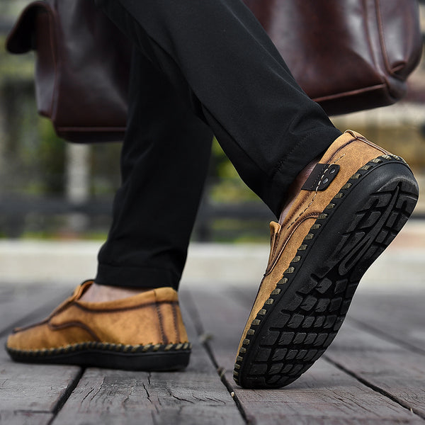 d81be05802dc6 Men's Shoes - Spring Summer Men Casual Handmade Breathable Slip-On Loafers