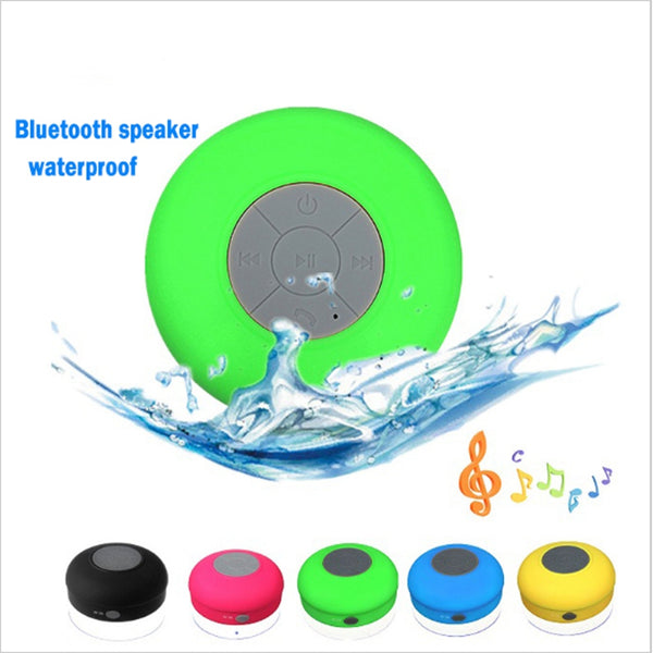 Portable Speakers - Water Resistant mini portable Shower Bluetooth Speaker