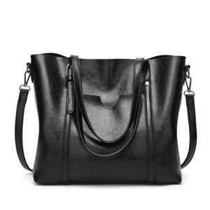 Bags & Wallets - Women Fashion Classic Leather Tote Handbag