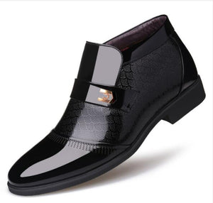 Men's Shoes - Fashion Leather Flat Dress Shoes