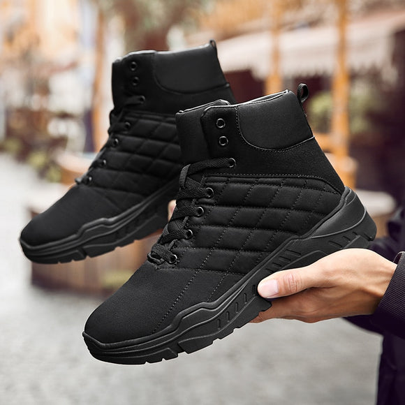 Shoes - 2018 New Stylish Men's Medium Snow Boots