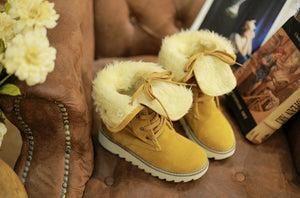 Women's Shoes - Ladies' Plush Warm Snow Boots