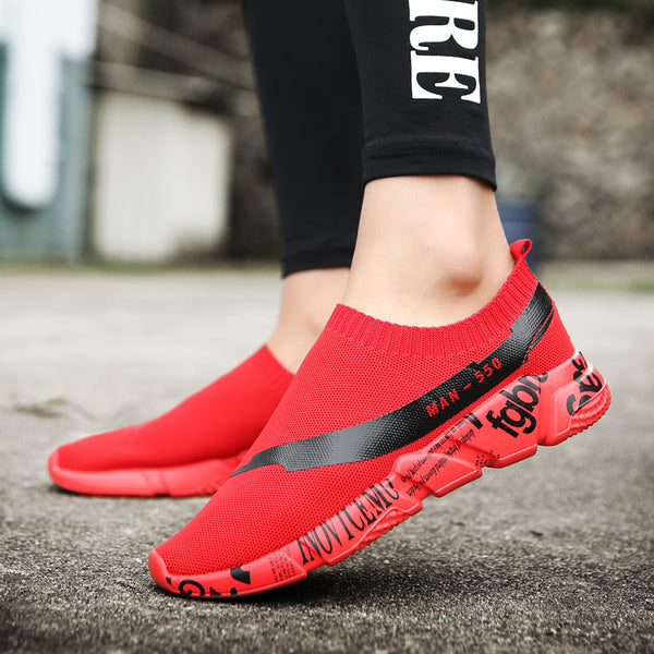 Shoes - 2018 Summer Breathable Socks Sneakers For Men