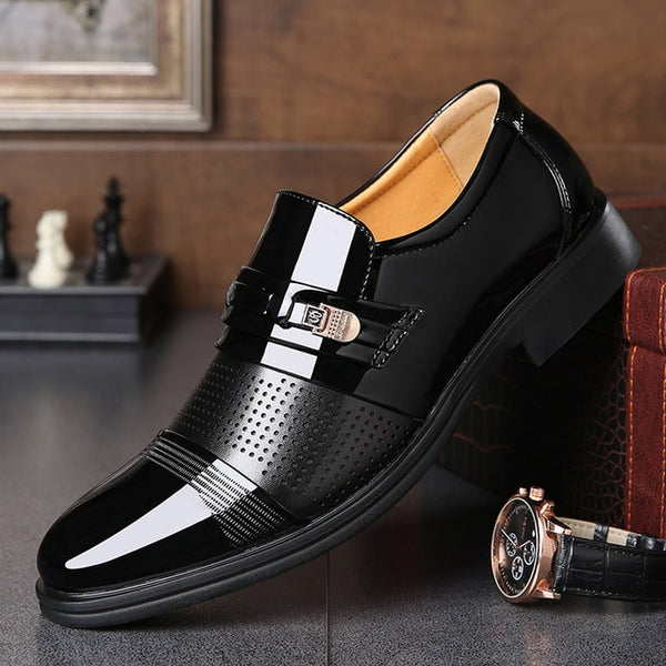 Shoes 2019 New Fashion High Quality British Style Men Oxford Shoes
