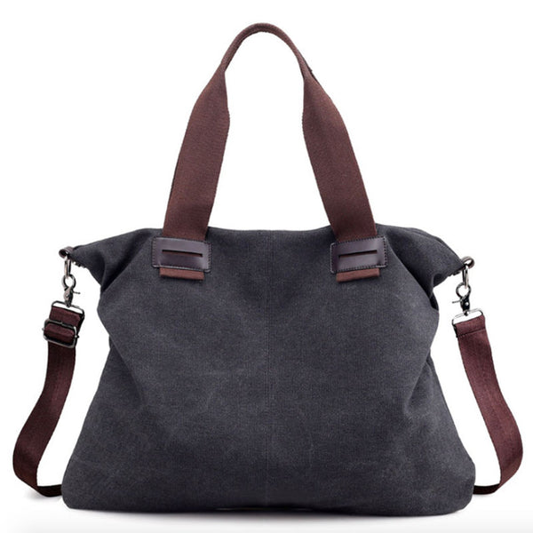 Bag - 2018 Spring New Large Pocket Canvas Handbags (Buy one Get one 20% OFF)
