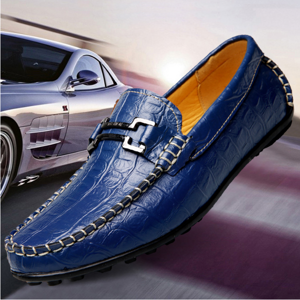 Men's Casual Genuine Leather Driving Loafers