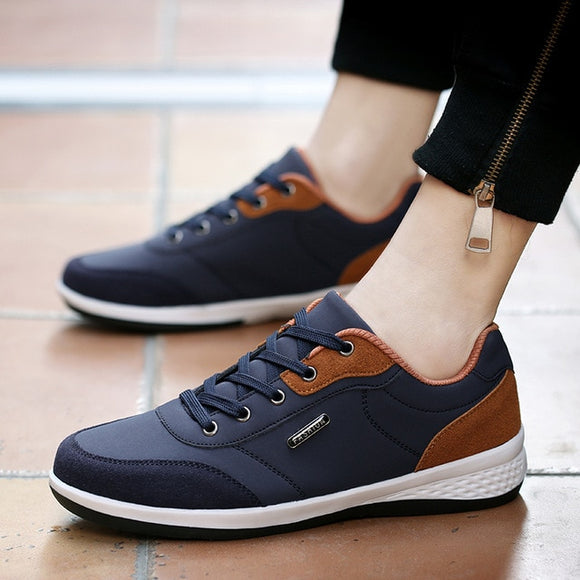 2020 Autumn New Men Shoes Lace-Up Men Fashion Shoes
