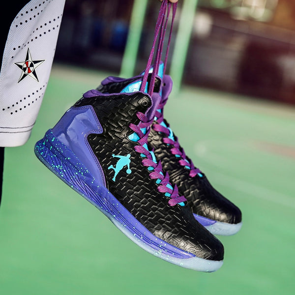 Shoes 2019 Men Breathable High top Basketball Shoes