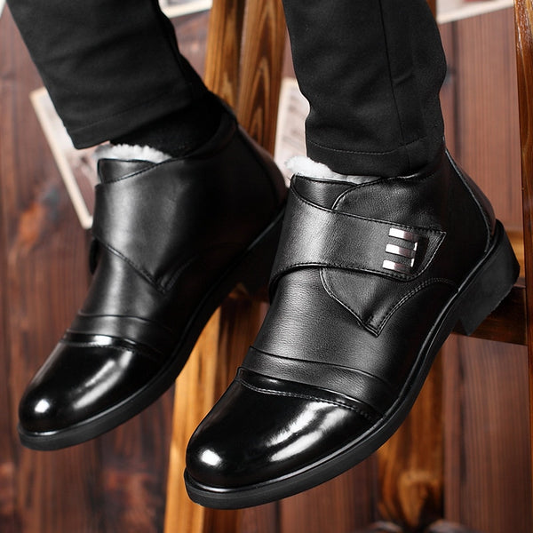 dac7140475b94 Shoes - 2019 New Men Leather Winter Boots – Kaaum