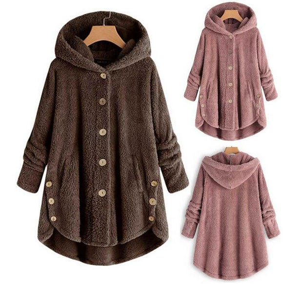 Kaaum Winter Fashion Women's Hooded Coat