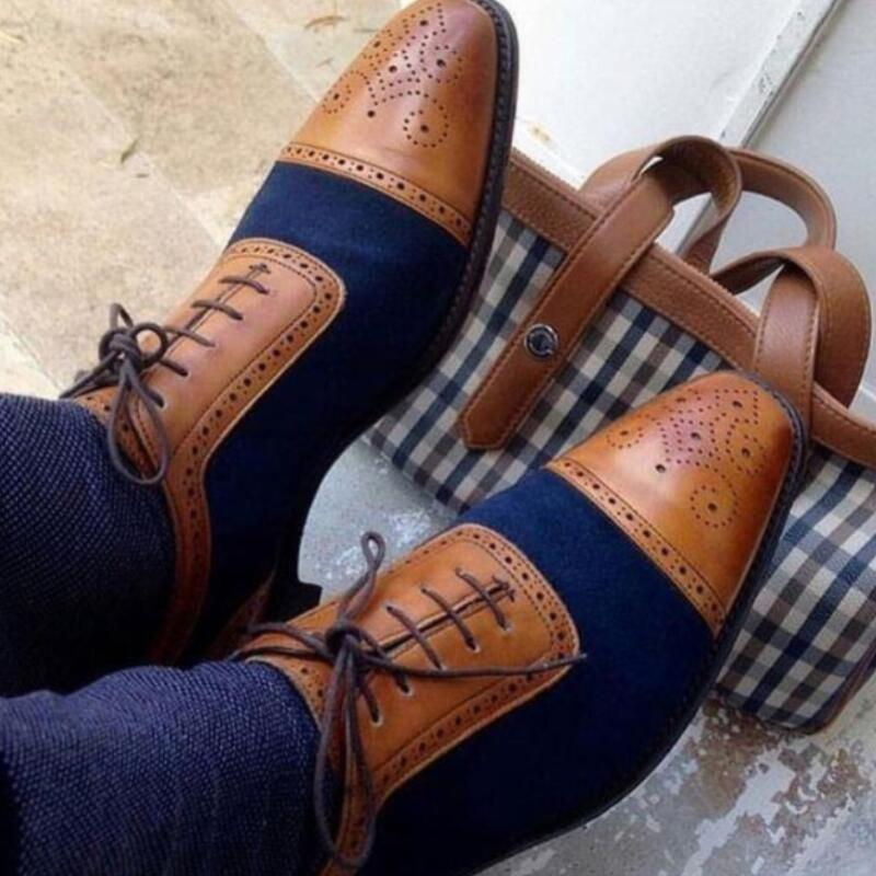 Spring Men's leather Shoes – Kaaum