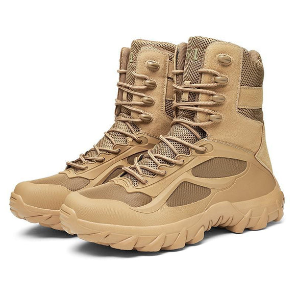 2020 Autumn Winter Ankle Men's Track Military Boots