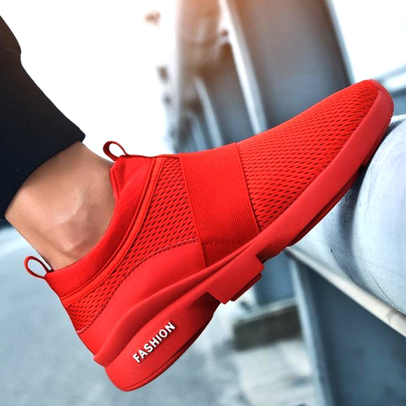 New Autumn Men's Ankle Running Shoes