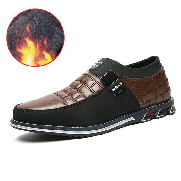 2020 Men's Autumn Big Size Oxfords Leather Shoes