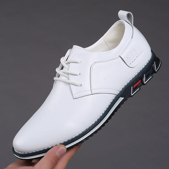 Men's New Big Size Oxfords Leather Shoes