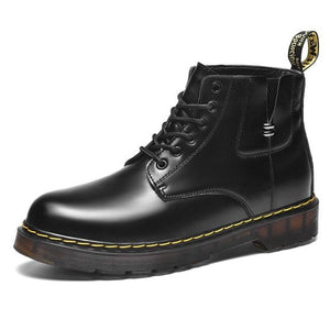 2020 New Genuine Leather Rubber Men Boot