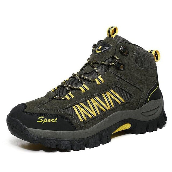 Kaaum Waterproof Outdoor Mountain Men Work Sneakers Boots