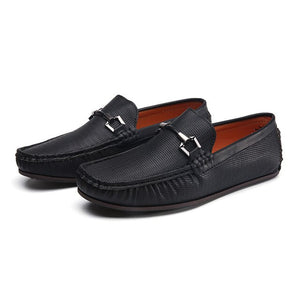 Kaaum New Men's Leather Shoes Comfortable Loafers
