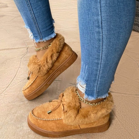 Women faux fur warm Winter Shoes