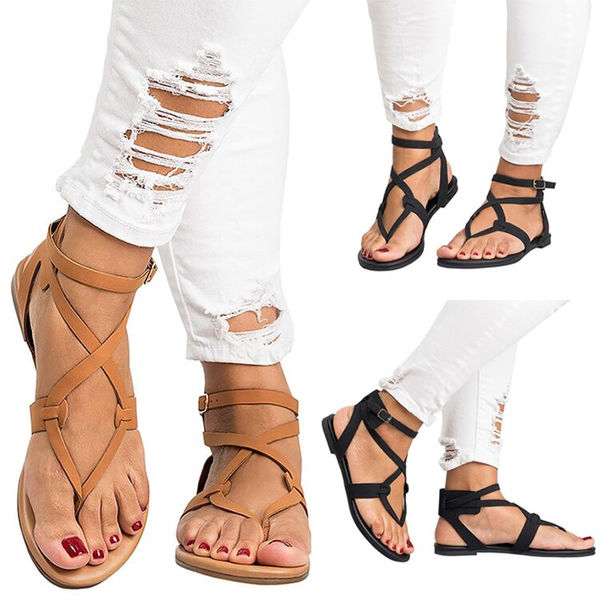 Shoes - 2018 New Style Female Ankle Strap Women Sandals