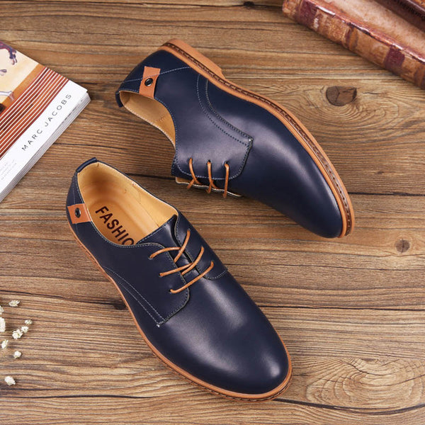 Shoes - New Leather Comfortable Casual Men's Shoes