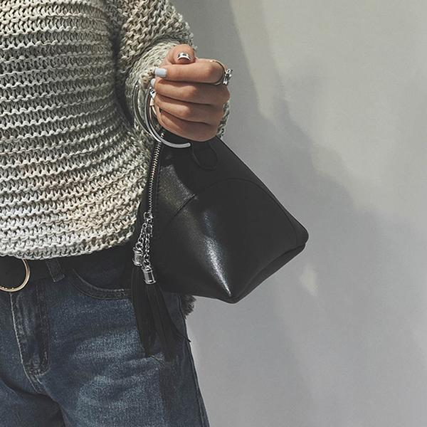 Bags-2018 Tassel Mini Dumpling Messenger Bags(Buy 1 for 5% off Buy 2 for 10% off Buy 3 for 15% off! )