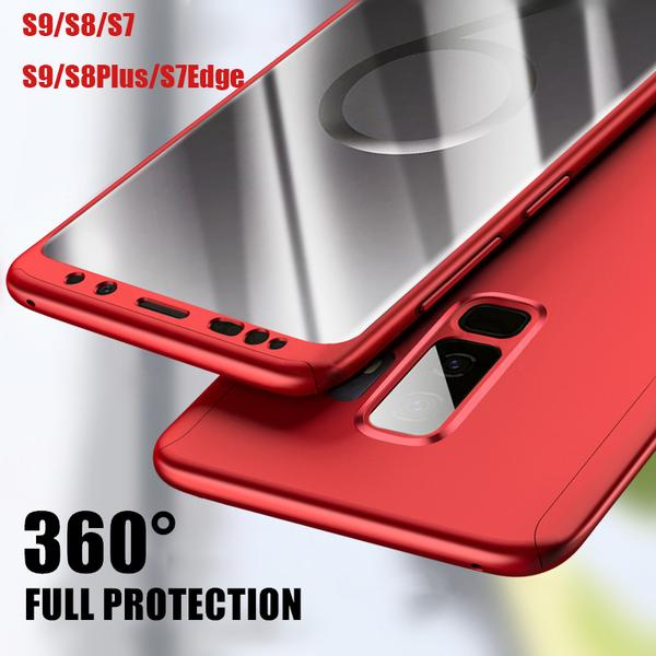 Phone Cases - 360 Degree Ultra Thin Case for Samsung Galaxy S8/S9/S7 with Screen Film
