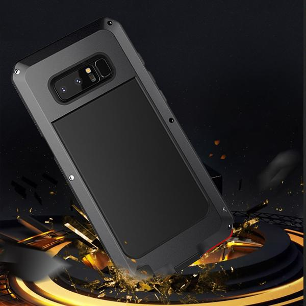 Phone Case - Luxury Doom Armor Dirt Shock Waterproof Metal Aluminum Phone Case For Samsung Galaxy S9 /S9Plus/Note8/S8/S8PLUS + Tempered Glass(Buy ONE Get One 30% OFF)