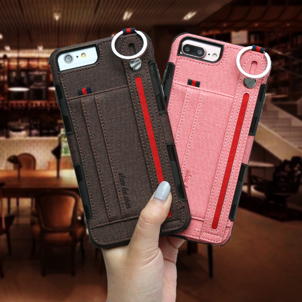 2018 Luxury Silicone Frame Pu leather Back Cover Shockproof Protective Case For iPhone
