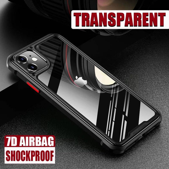 3D Luxury Shockproof Armor Case For iPhone