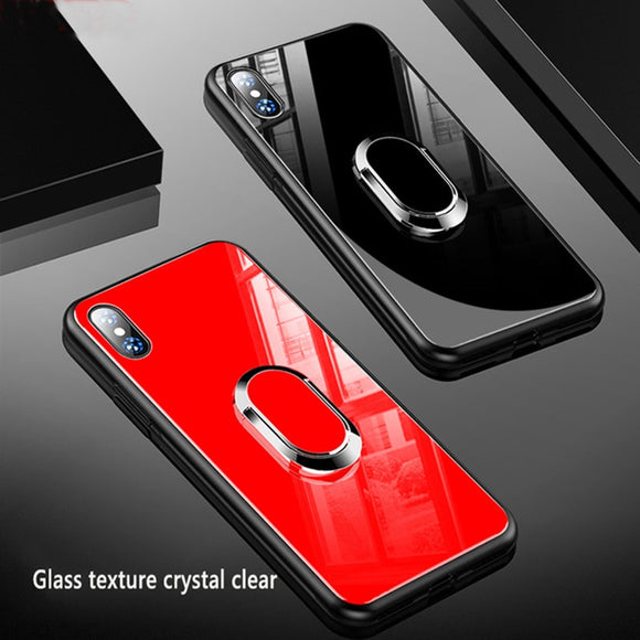 3D Magnetic Luxury Protective Shockproof Back Cover Case For iPhone