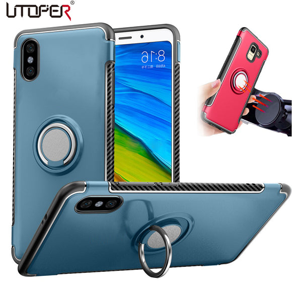 Magnetic Stand Silicone Case for iphone X XS XR XS MAX