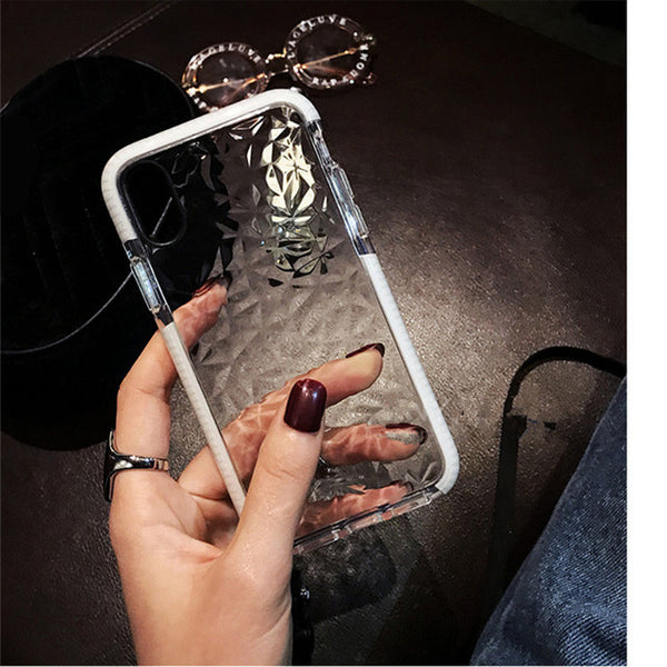 Phone Case-3D Luxury Diamond Soft Case For iPhone X 8 7