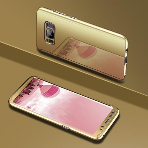 Phone Case - Bling Mirror 360 Full Protection Cover For Samsung S9 S9+ Note 8 S8 S8+ S7 S7Edge ( Buy One Get One 20% Off )
