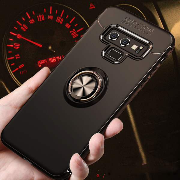 New Car Magnetic Bracket Cases for Samsung Galaxy Note 9 with Ring