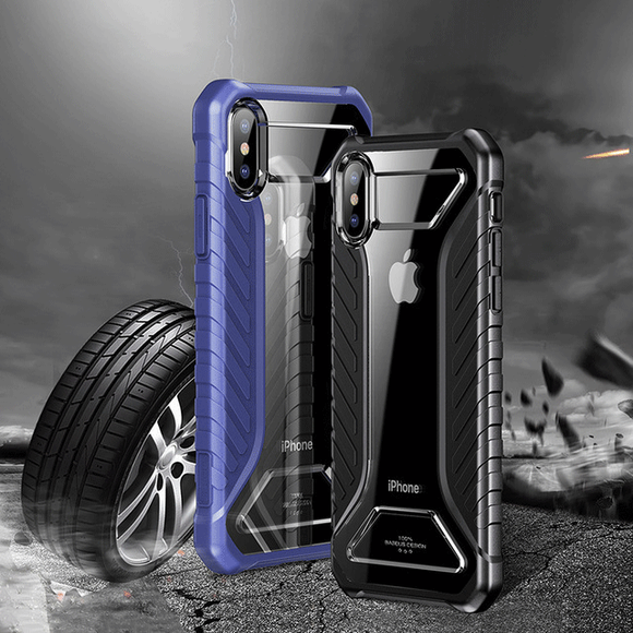 Phone Case - Tire Texture Case Armor Soft Silicone Protective Cover For iPhone XS XR XS Max