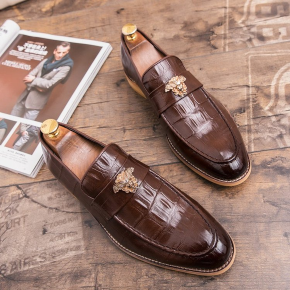 2019 Men Hot Sale Business Dress Leather Shoes