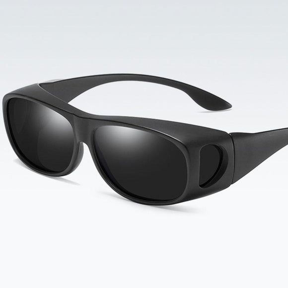 Polarized Night Vision Titanium Sports Glasses