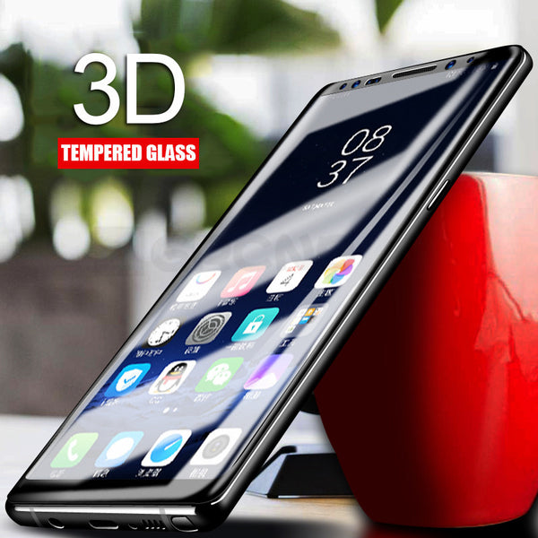 Screen Protector - 4D Full Cover Seamless Curved Tempered Glass Screen Protector Film