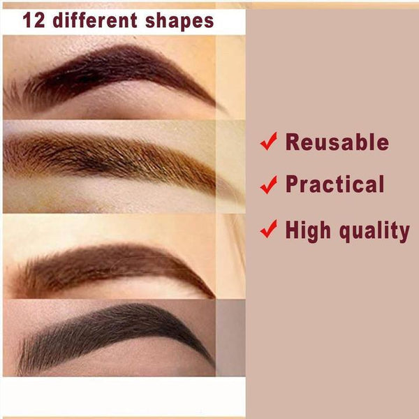 Eyebrow Template Straps