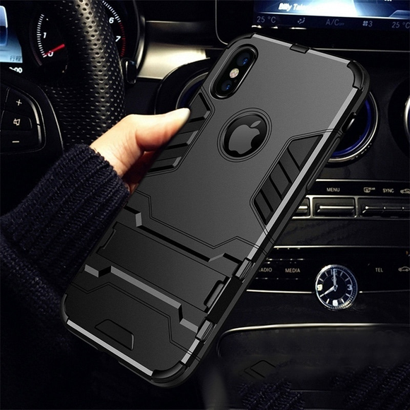 Heavy Duty Anti-knock Hard Shockproof Phone Case For iPhone X/XS/XSMax-US